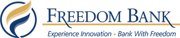 Logo Recognizing ATI Solutions, Inc.'s affiliation with Freedom Bank